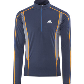 Mountain Equipment Ignis Longsleeve met halve rits Heren, cosmos/ombre blue